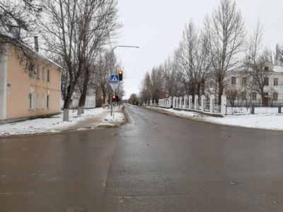 20200105 перекресток ул. Советской и ул. Ленина Жирновск