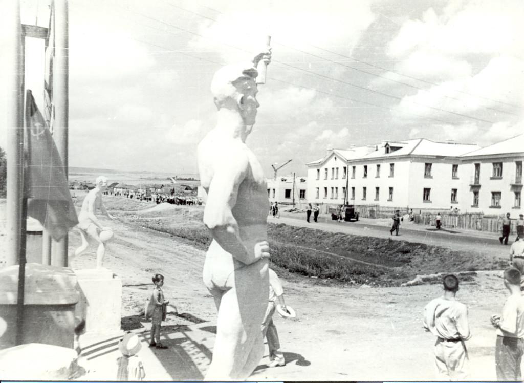 Жирновск, ул. Ломоносова стадион