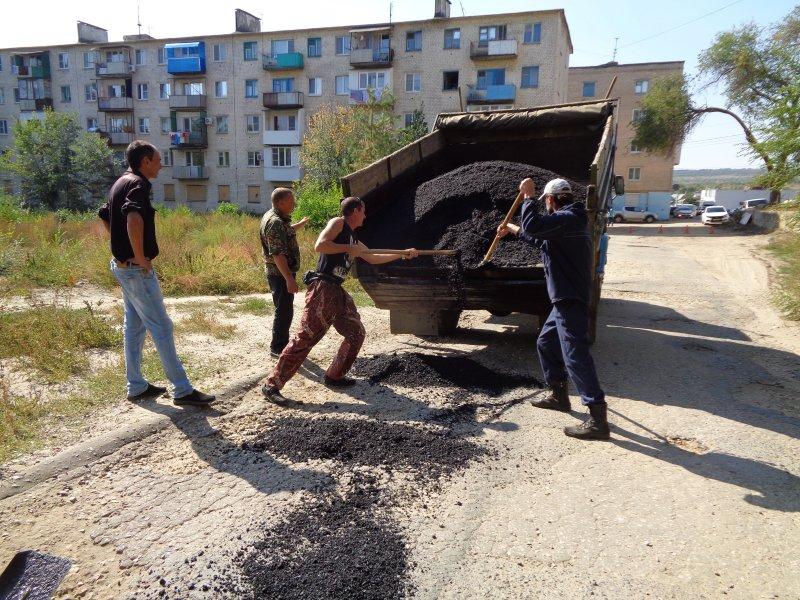 ремонт дорог жирновск
