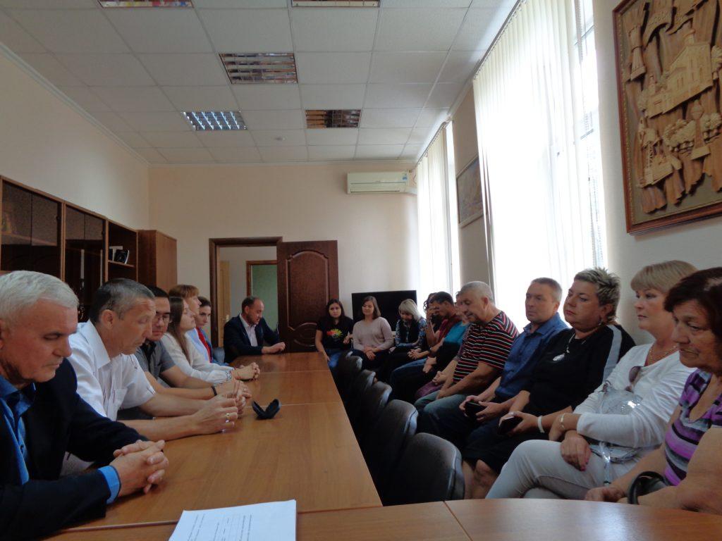 Глава Жирновска и депутаты
