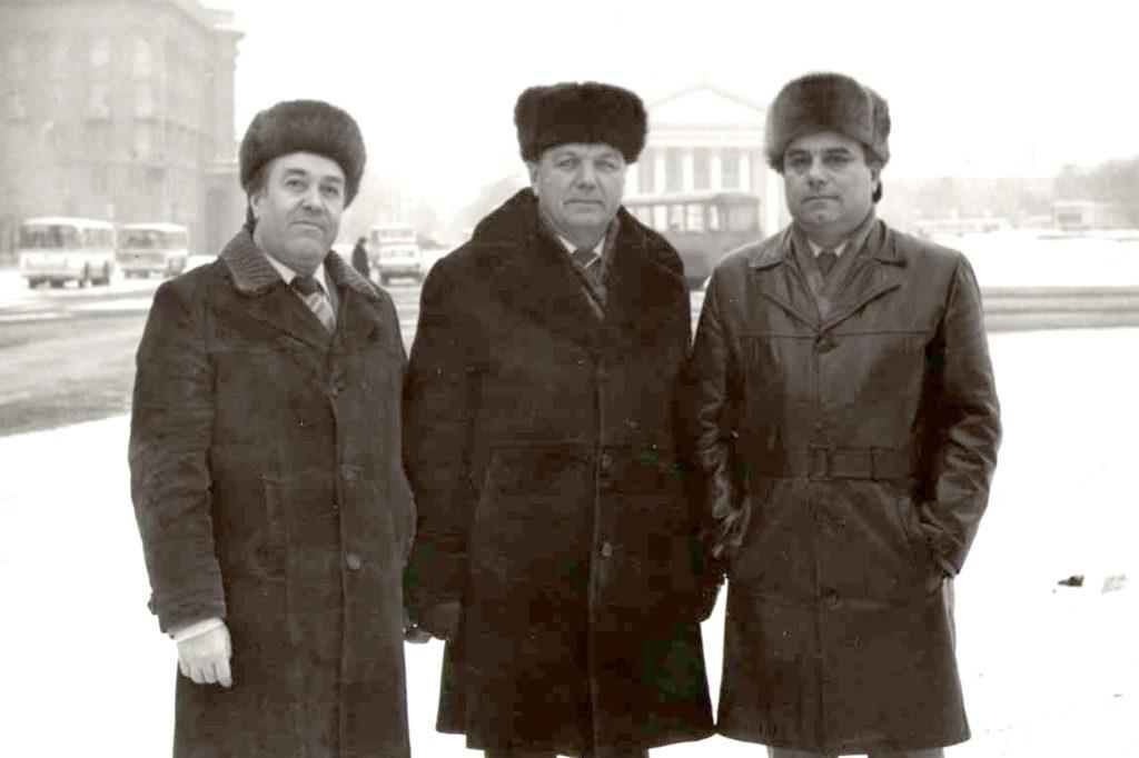 Удалов, Жданов, Гаценко