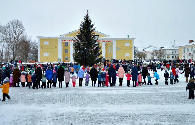 Дед Мороз Жирновск